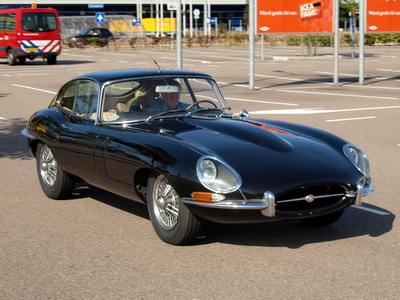 Black Jaguar E type